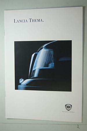 Lancia Thema. 8 Seiten Prospekt 1990-er.: Lancia: