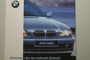 Faltprospekt BMW 328 Ci 1999: BMW: