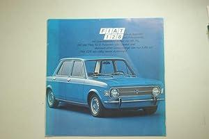 Faltblatt Fiat 124 1969: Fiat: