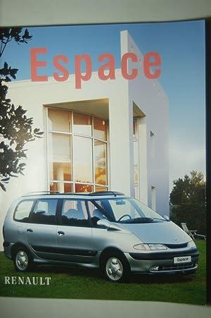 Prospekt Renault Espace aus den 1990igern: Renault:
