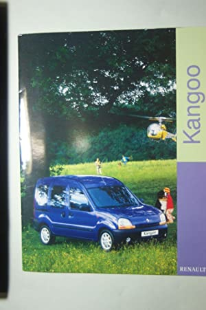 Prospekt Renault Kangoo 1997: Renault: