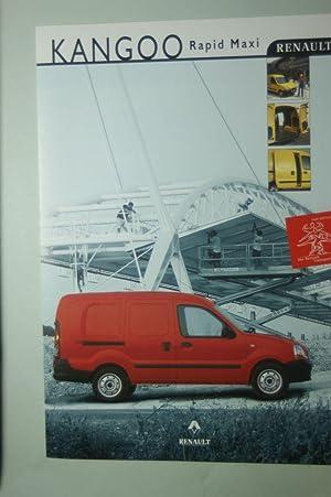 Faltblatt Renault Kangoo Rapid Maxi 1999: Renault: