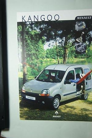 8 Seiten-Prospekt renault Kangoo 1999: Renault: