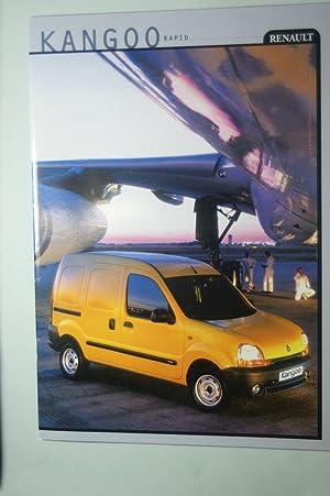 Prospekt Renault Kangoo Rapid 1999: Renault:
