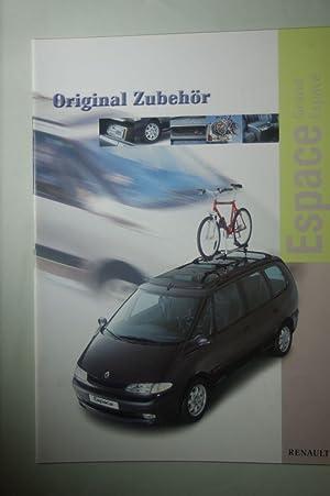 Prospekt Renault Espace Zubehör 1999: Renault: