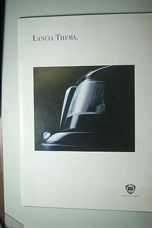 Prospekt Lancia Thema 1993: Fiat: