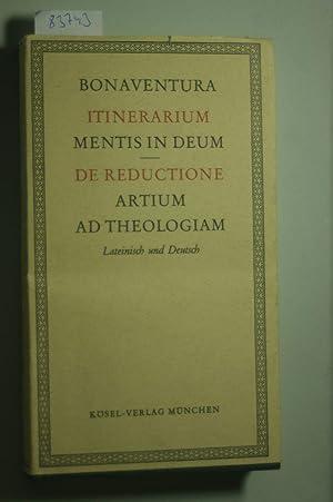 Pilgerbuch der Seele zu Gott Die Zurückführung: Bonaventura, :