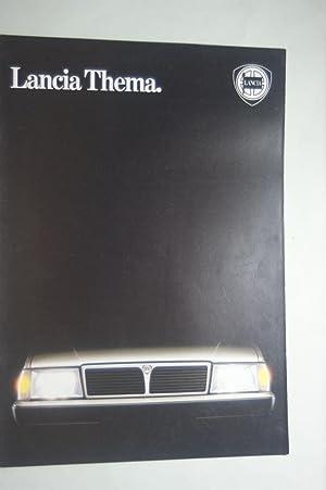 Prospekt Lancia Thema 1987: Lancia: