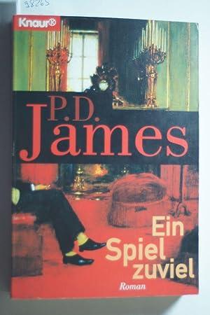 Ein Spiel zuviel: James, P. D.