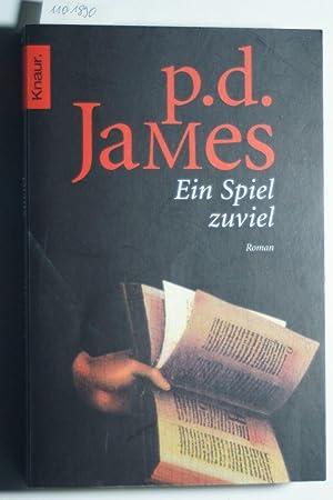 Ein Spiel zuviel: James, P. D.: