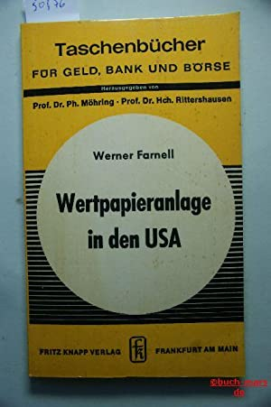 Wertpapieranlage in den USA