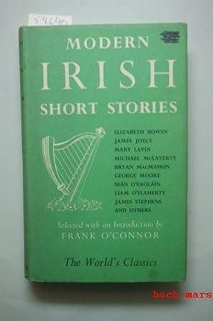 Modern Irish Short Stories. Selected with an: Bowen Elizabeth/ Joyce,