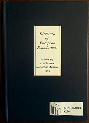 Directory of European Foundations.