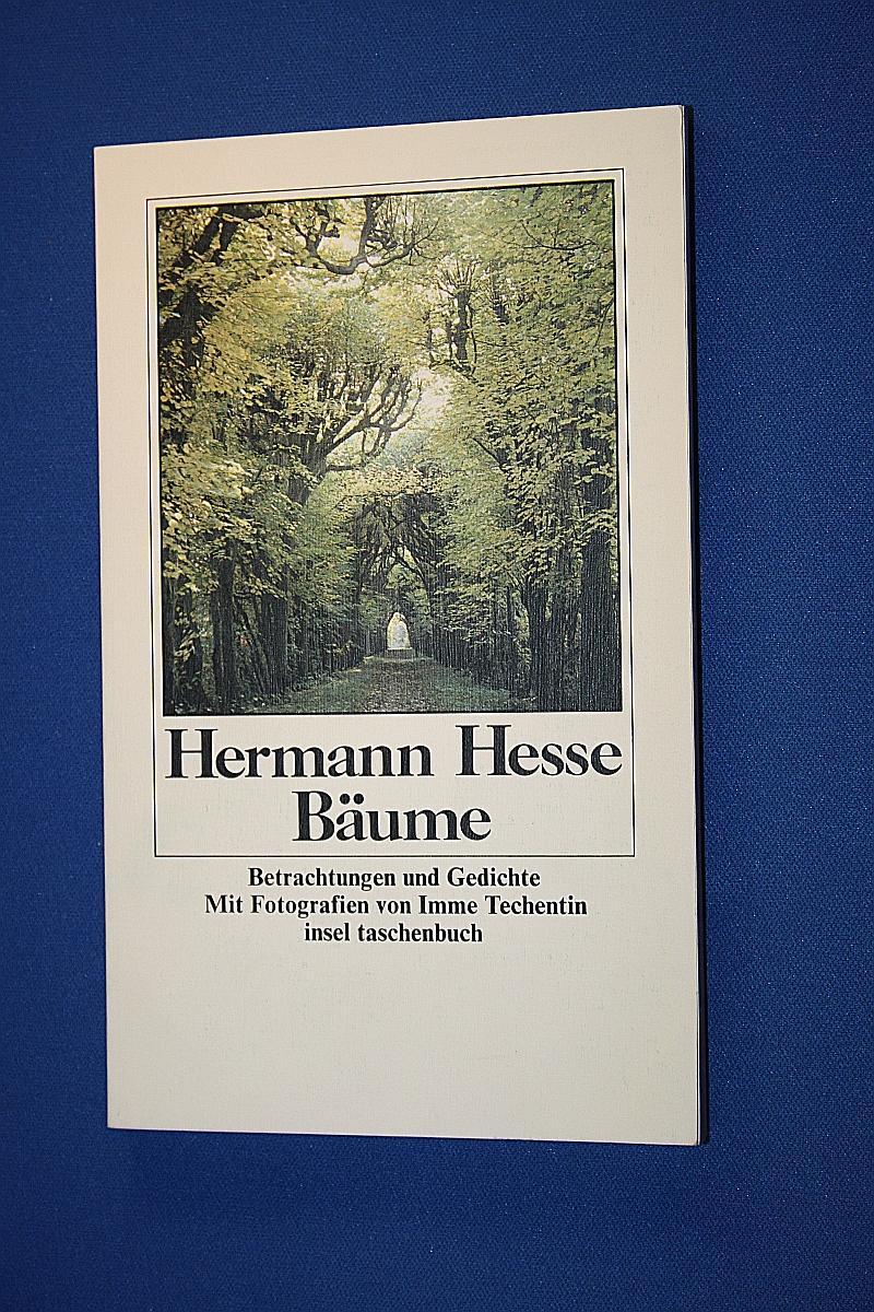Bäume : Betrachtungen u. Gedichte: Hesse, Hermann