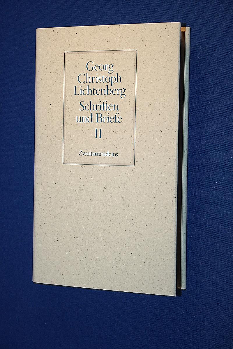 Briefe Und Xd : Schriften und briefe von lichtenberg georg zvab
