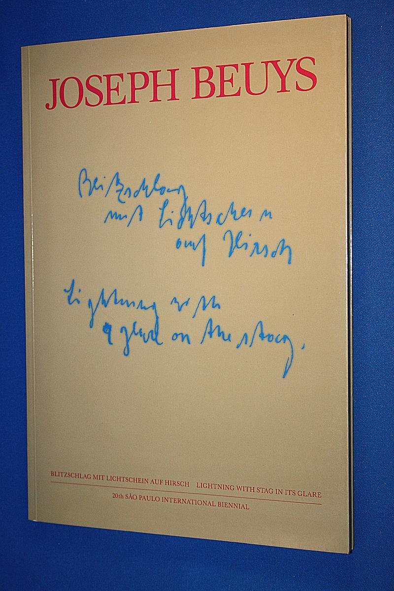 Blitzschlag mit Lichtschein auf Hirsch : 1958: Beuys, Joseph