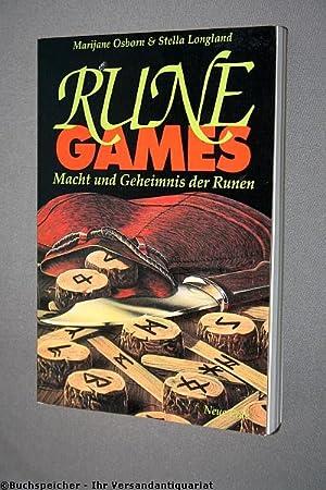 Rune Games: Macht und Geheimnis der Runen: Osborn, Marijane