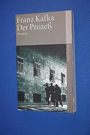 Der Prozeß : Roman: Kafka, Franz