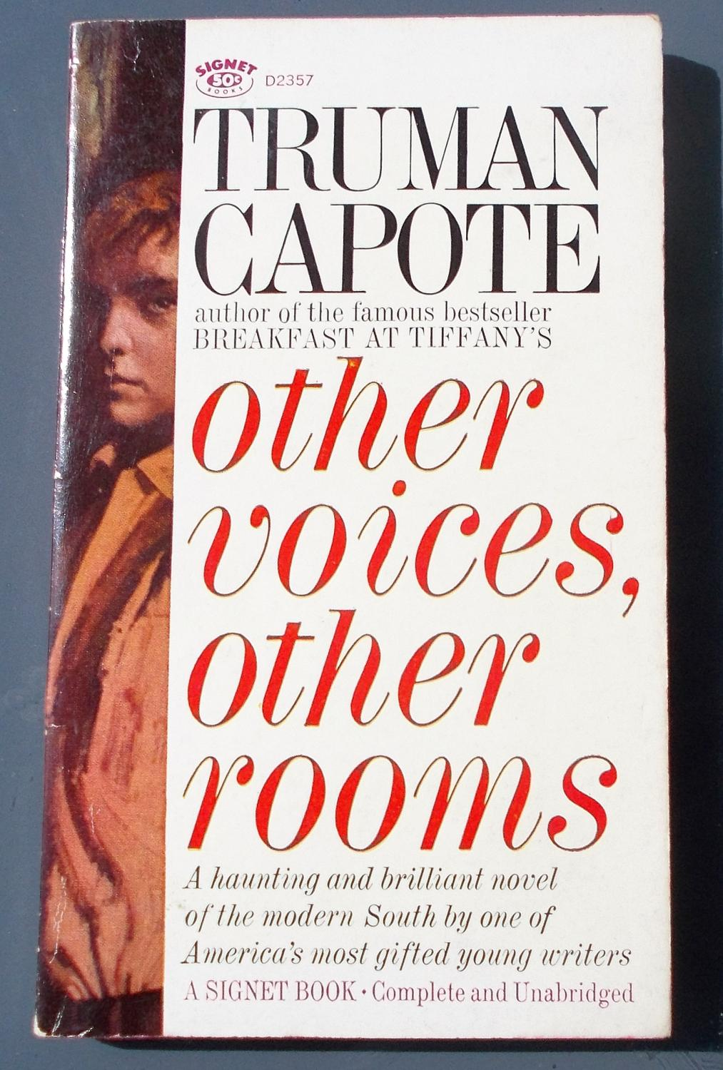 other voices other rooms Other voices, other rooms by truman capote  joel knox, his journey  through dying rooms as he leaves new orleans to find his.