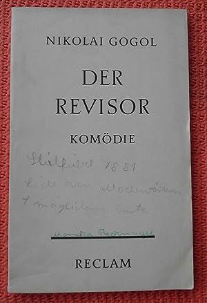 Der Revisor: Komödie in 5 Aufzügen, Deutsch: Nikolai Gogol
