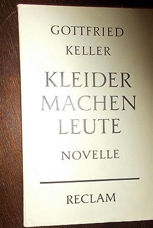 Kleider Machen Leute Keller Gottfried - AbeBooks