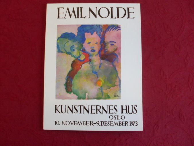 1867-1956. Malerier, Akvareller, Grafikk.: Nolde Emil