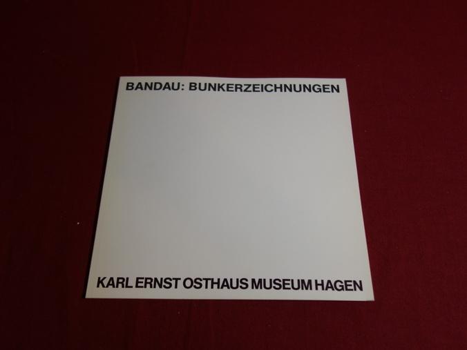 BANDAU, BUNKERZEICHNUNGEN. 6.4. - 15.4.1978: Müller Dr. Johann
