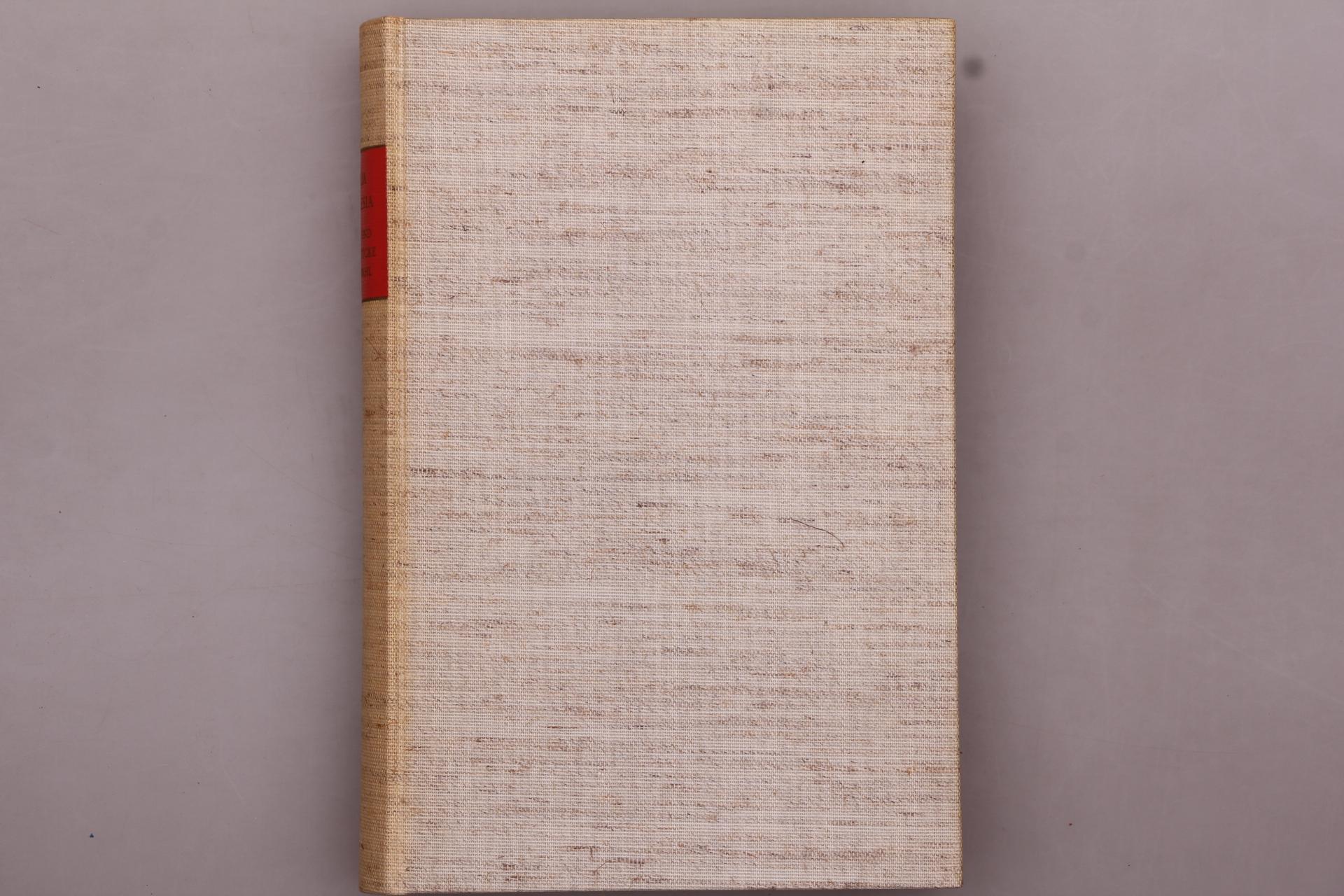 MARIA THERESIA BRIEFE UND AKTENSTÜCKE IN AUSWAHL. Freiherr vom Stein-Gedächtnisausgabe - Hrsg.]: Walter, Friedrich