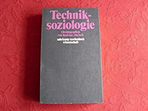 TECHNIKSOZIOLOGIE*. Inhalt: Theoretische Perspektiven, Strukturen technischen Wandels,: 54780 Jokisch, Rodrigo