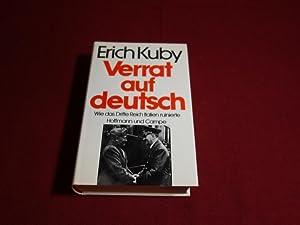 VERRAT AUF DEUTSCH* Wie das Dritte Reich: 96346 Kuby, Erich;