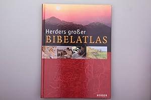 HERDERS GROSSER BIBEL-ATLAS.: Hrsg.]: Pritchard James