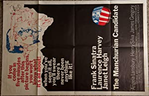 """THE MANCHURIAN CANDIDATE. 27"""" X 41"""" COLOR: CONDON, RICHARD."""