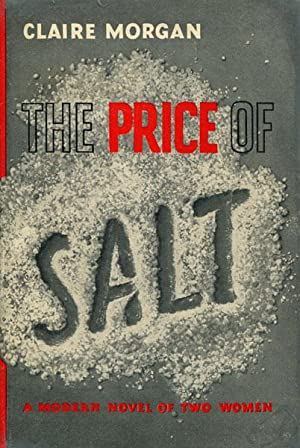 THE PRICE OF SALT.: MORGAN, CLAIRE.
