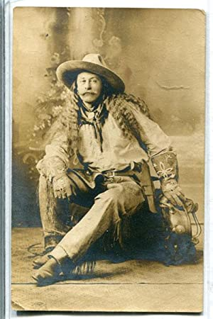 PHOTOGRAPHIC POST CARD OF PAWNEE BILL