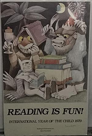 "READING IS FUN! - POSTER WITH ""WHERE: SENDAK, MAURICE"