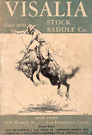 VISALIA STOCK SADDLE CO. CATALOG NO.32: BERGEN, LELAND B.,