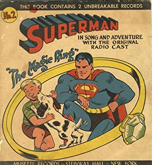"SUPERMAN ""THE MAGIC RING"" IN SONG AND: SUPERMAN]"