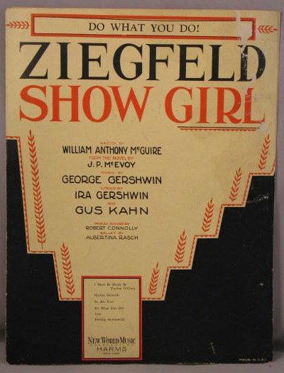 Ziegfeld Show Girl: Do What You Do!