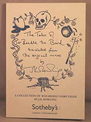 Auction catalog: The Tales of Beedle the: Rowling, J. K.;