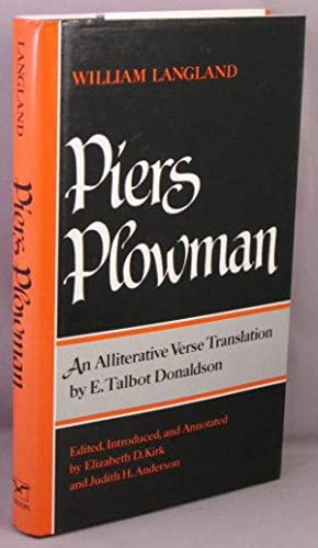 Will's Vision of Piers Plowman; An Alliterative: Langland, William; E.