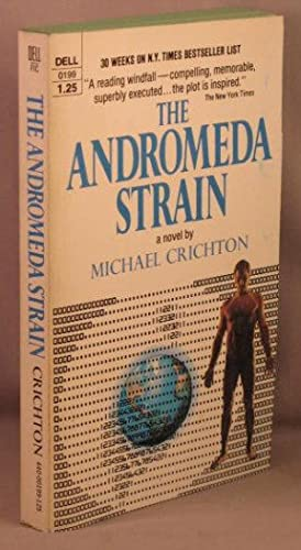 an analysis of michael crichtons novel the andromeda strain Learn more about michael crichton on our official site biography page  his multiple-discriminant analysis of egyptian crania,  the andromeda strain,.