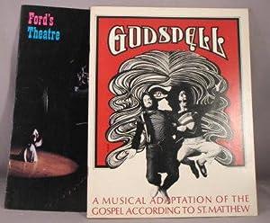 SOUVENIR PROGRAM: Godspell, A Musical Based Upon: Lansbury, Edgar; Stephen