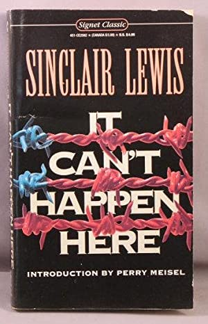 It Can't Happen Here.: Lewis, Sinclair