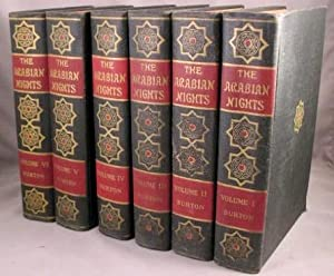 The Book of the Thousand Nights and a Night. Six volumes.