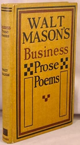 Business Prose-Poems.