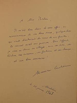 Cristal de Roche; Poemes.: Cruchon-Meylan, Maly