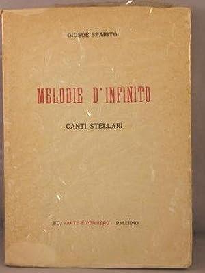 Melodie d'Infinito; Rime e Canti dei Chiarori Stellari: Sparito, Giosue [Enrico Fagone]
