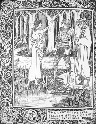 LE MORTE D'ARTHUR.Introduction by Prof. Rhys and a note on Aubrey Beardsley by Aymer Vallance:...