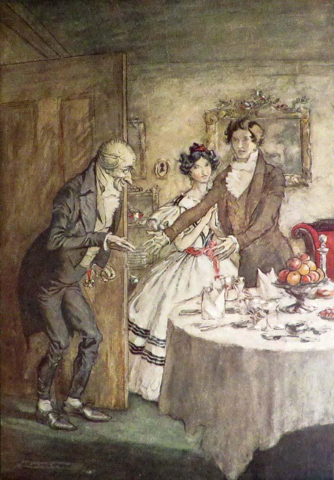 CHRISTMAS CAROL: [Rackham, Arthur, Illus.] Dickens Charles