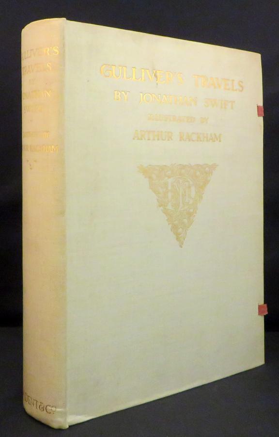 GULLIVER'S TRAVELS Into Several Remote Nations of the World: [Rackham, Arthur, illus.] Swift ...